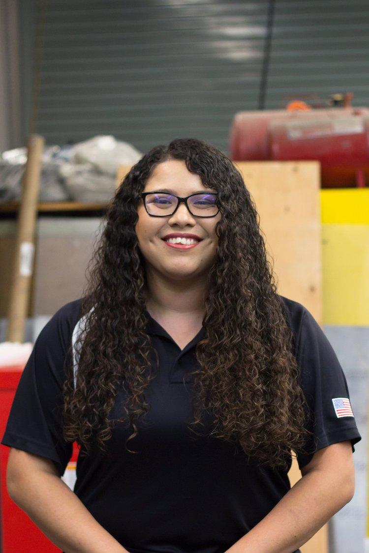 Kimberly Ramirez    Powertrain Lead   Engines/Intake Captain   karamirez1@cpp.edu