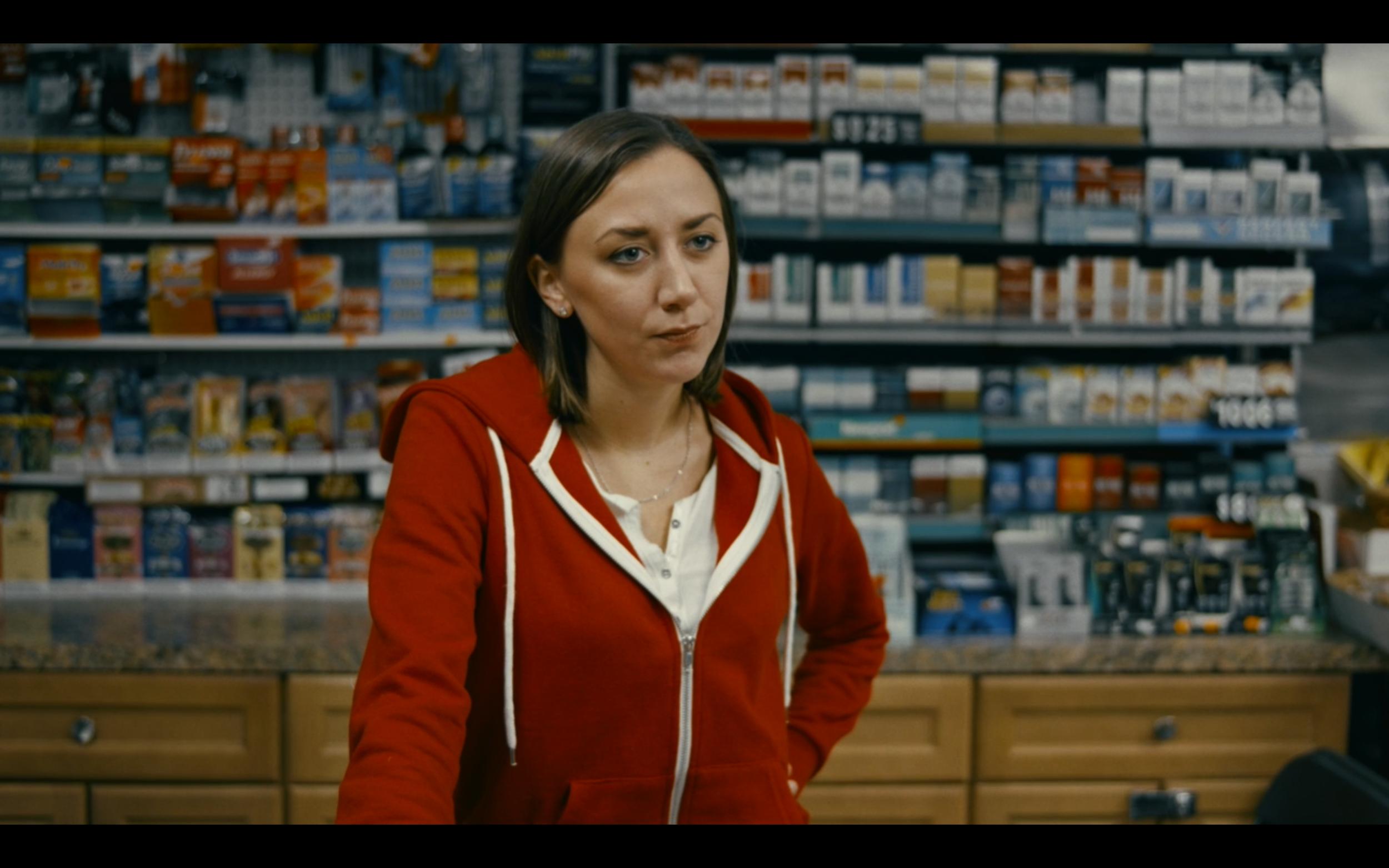 Sarah Keyes as Steph the clerk