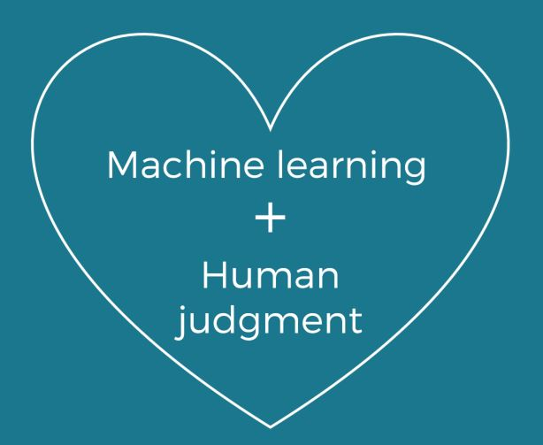 Customer experience analysis benefits if both Machine Learning and Human Judgment work together