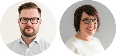 Thomas Laursen Customer Agency and Suvi Lindfors Lumia