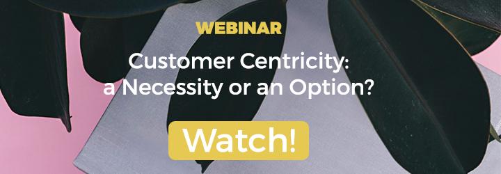 Customer Centricity Webinar
