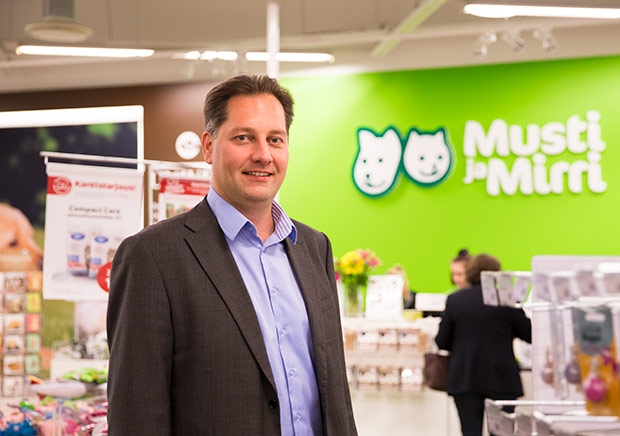 Juhana Lamberg, Country Manager at Musti ja Mirri