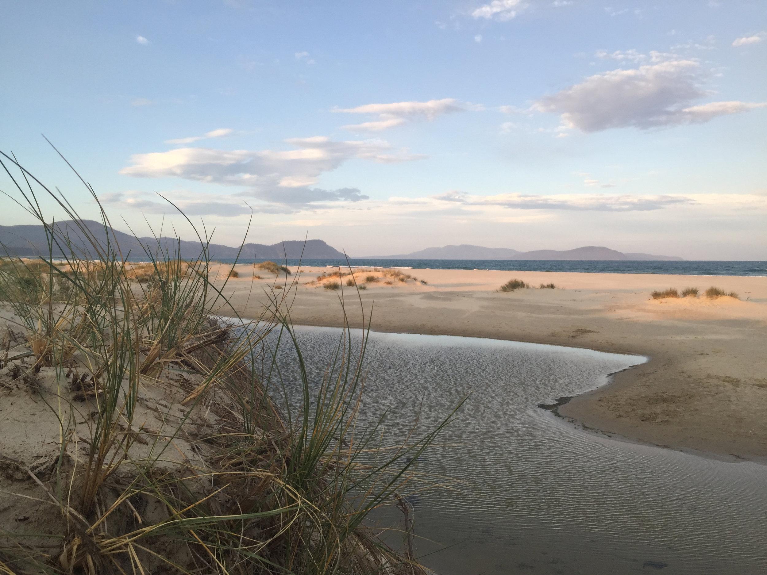 Marion Bay Beach.