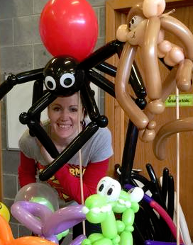 Our balloonist is standing by to keep your kids entertained