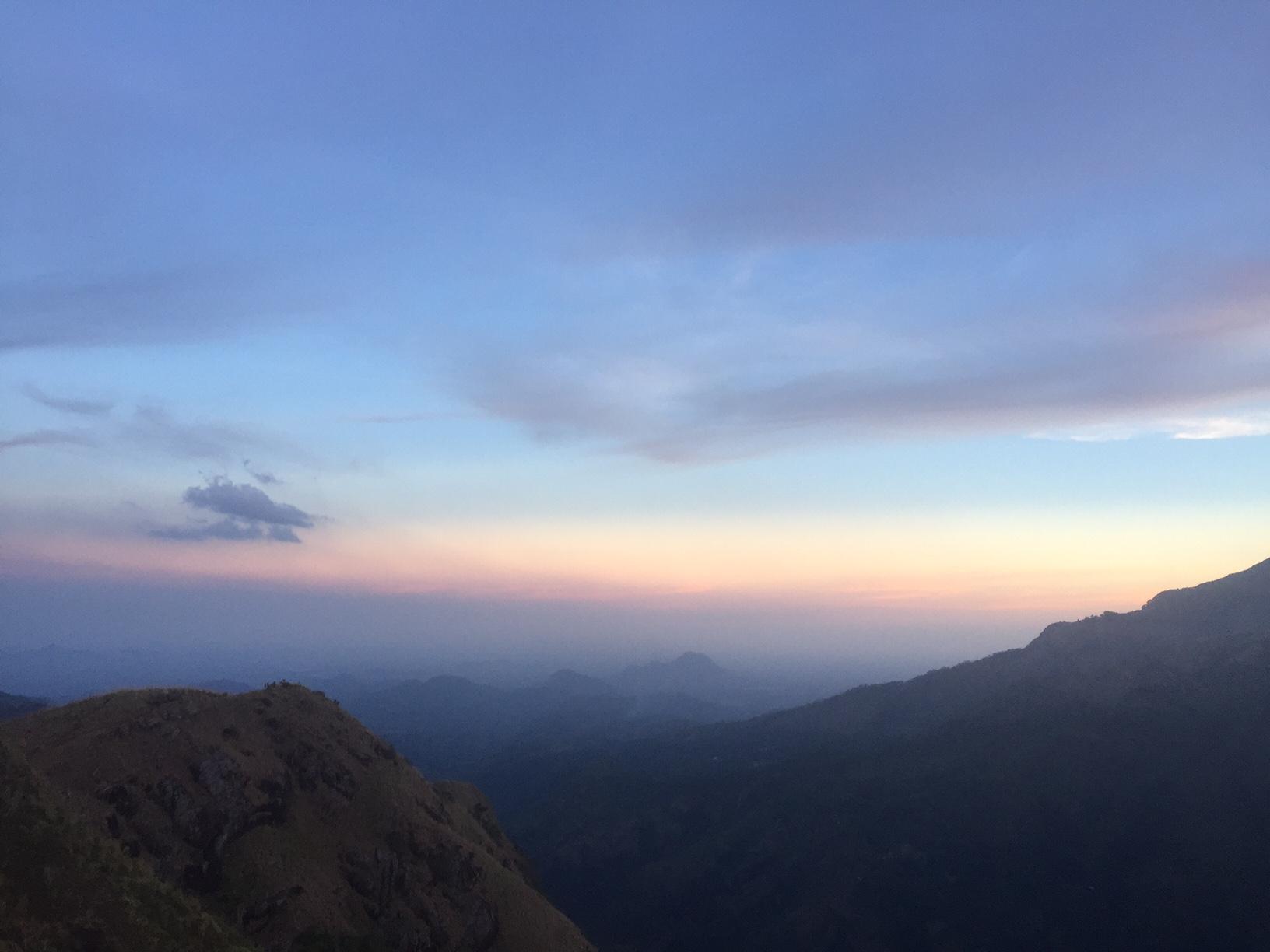 Little Adam's Peak sunset