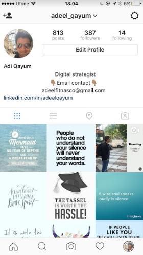 Guide To Center Instagram Bios