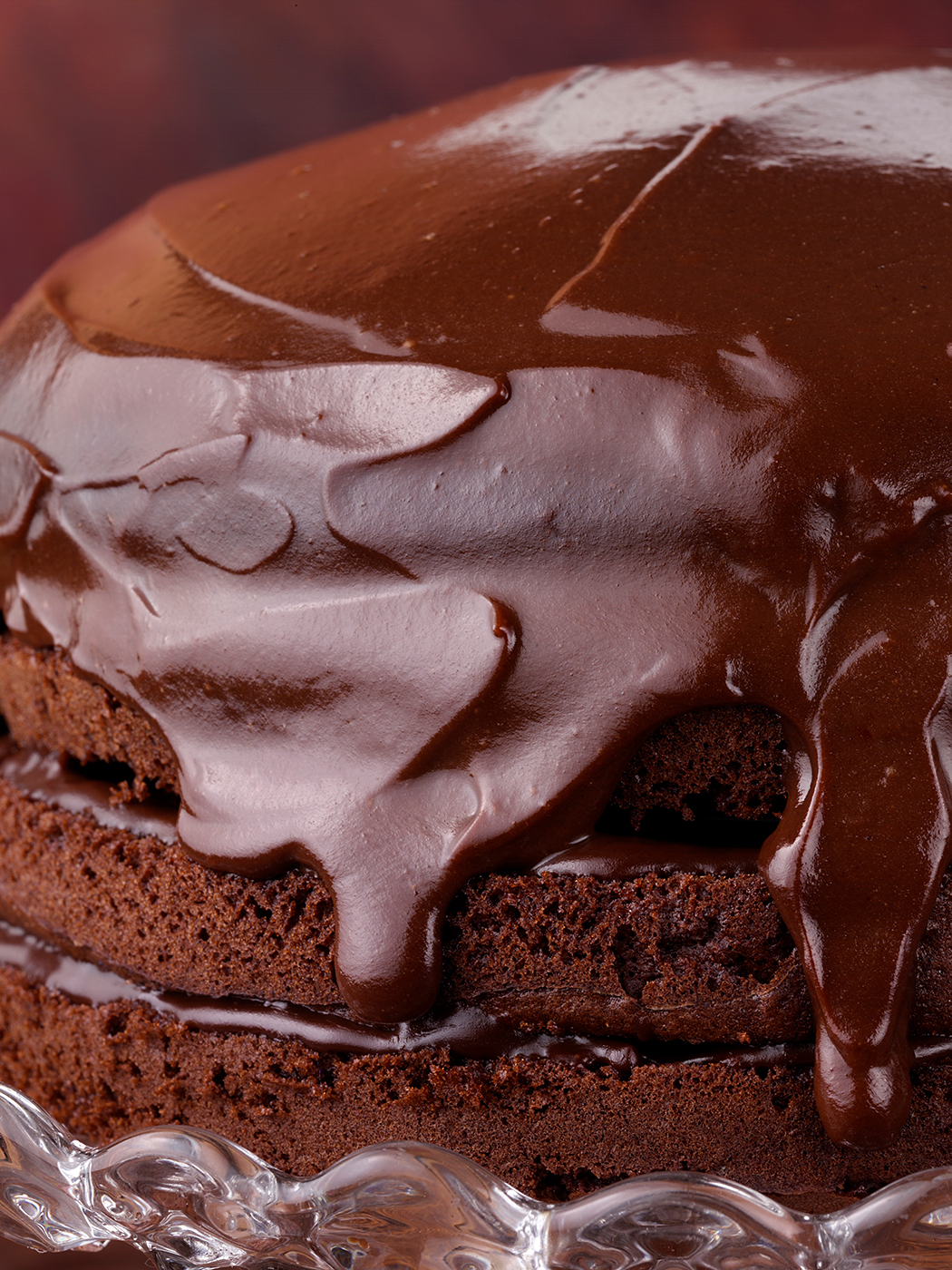 Chocolate Mocha cake with chocolate frosting