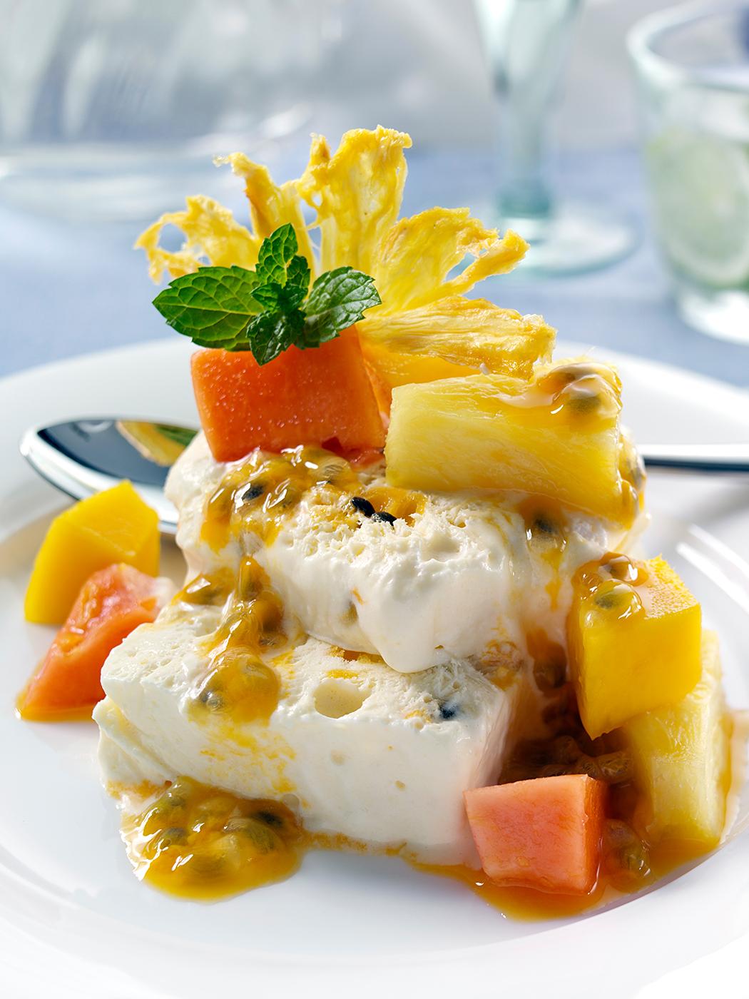 Semifreddo dessert