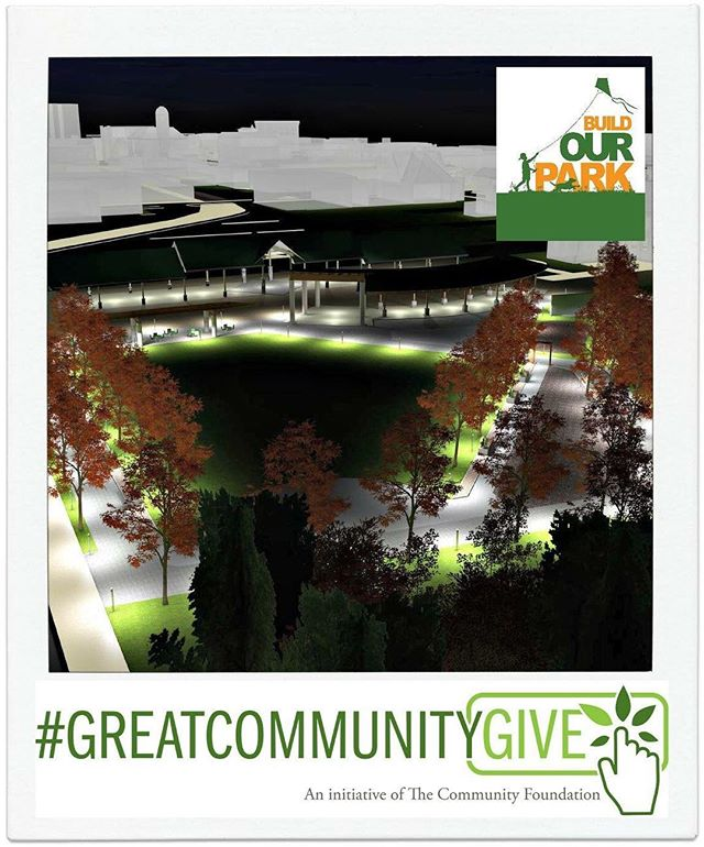 As the sun sets on the #GreatCommunityGive, one thing is certain - when we all come together in support of worthy causes, our community wins! Thanks to those of you who shared in the excitement of the first ever Great Community Give. There will be many more ways to stay involved as we come together to build our park.