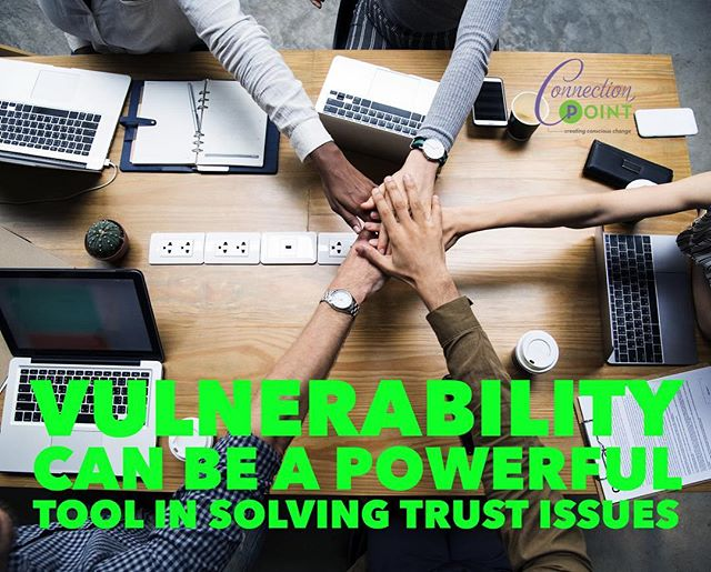 Over the past few weeks, I have been sharing information about the importance of vulnerability and what a powerful tool it can be for solving trust issues in any type of relationship.  This week, try practicing more vulnerability-based communication with your teams and family; you will be surprised at how it positively influences the dynamics of the relationship.  #vulnerability #trust #relationships #creatingconsciouschange #tampa