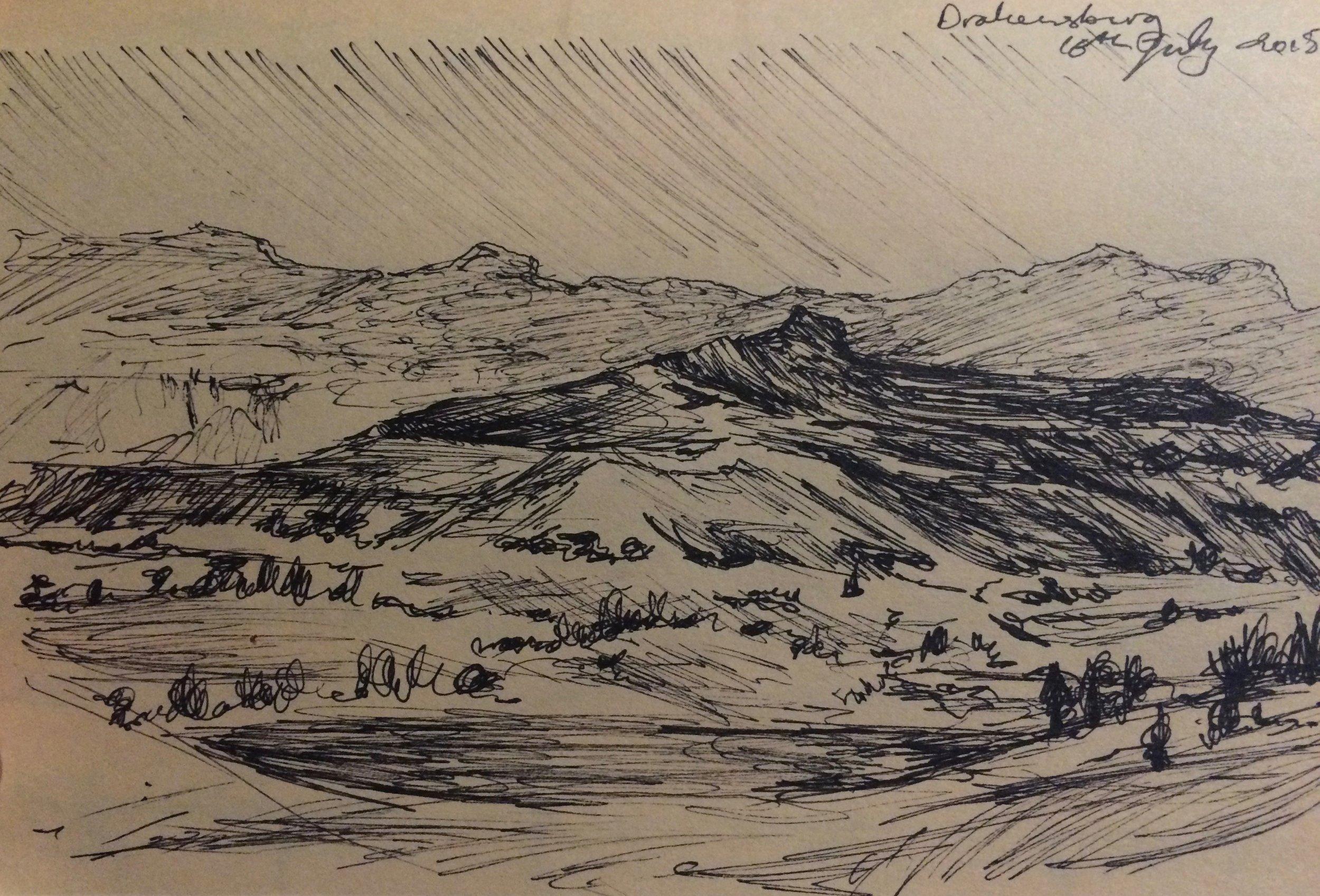 Drakensburg Sketchbook