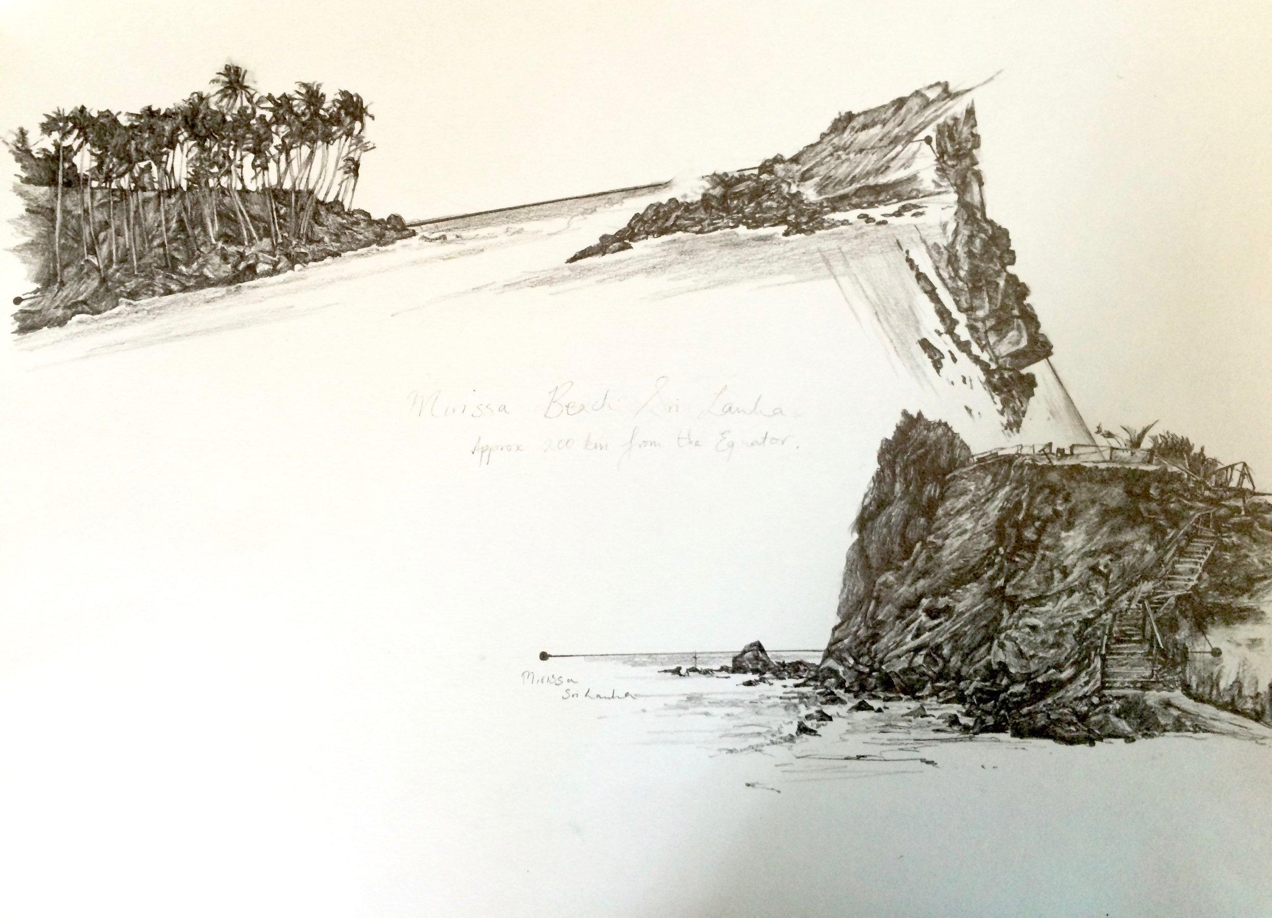 Mapping Mirissa Beach