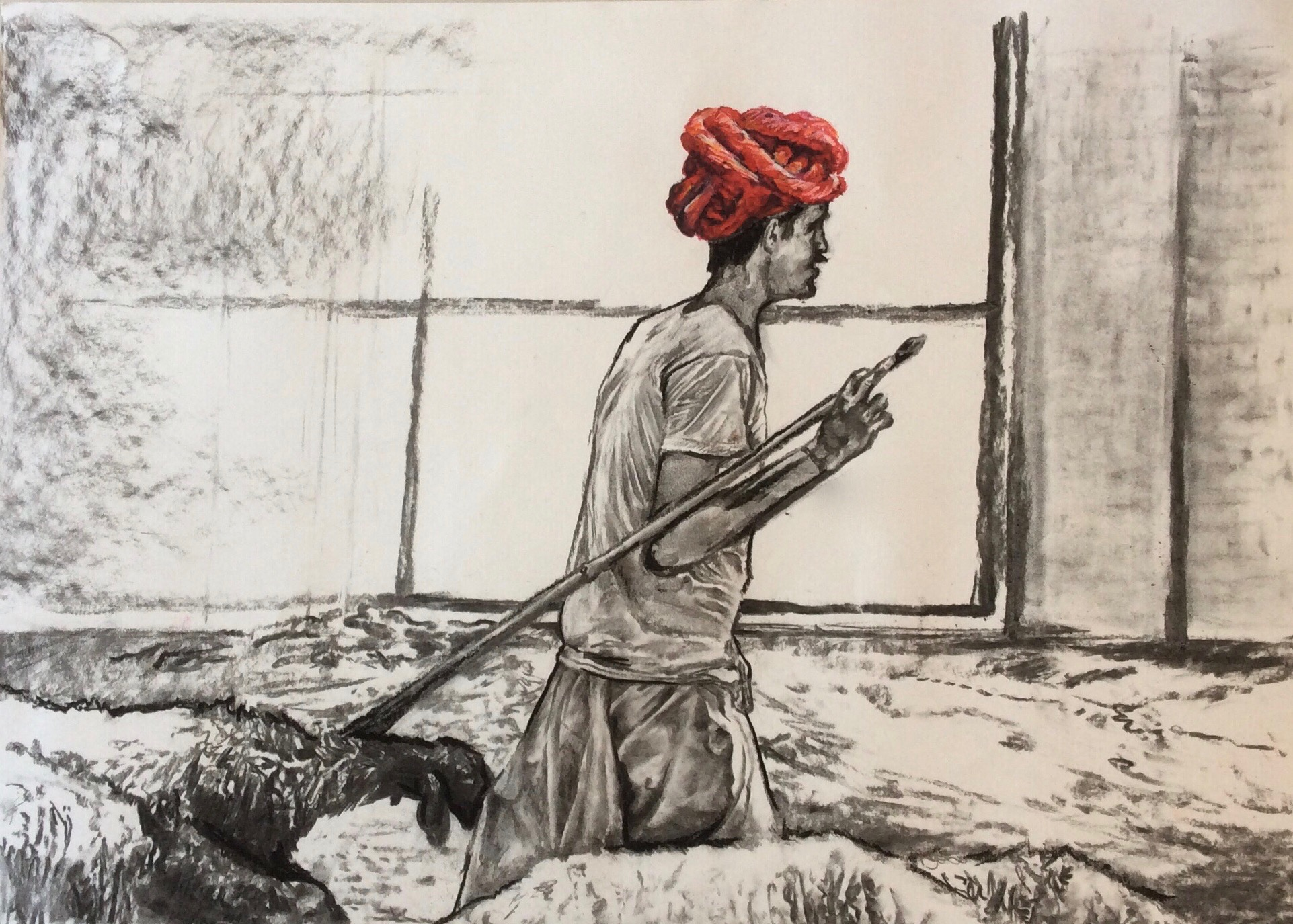 The Red Turban.