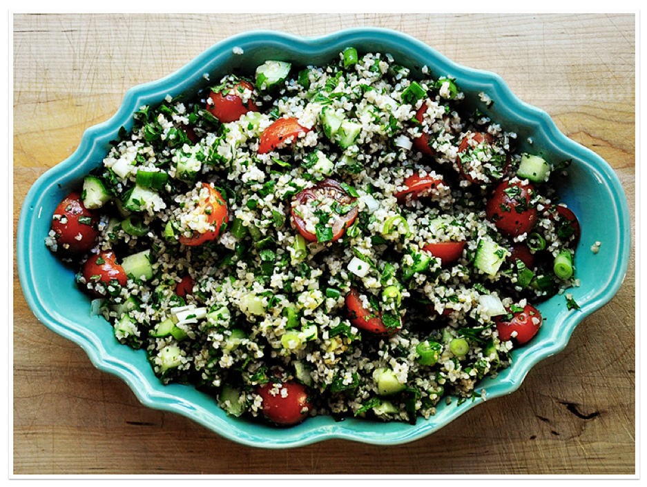 Tabbouleh - As a side or a main with a protein element