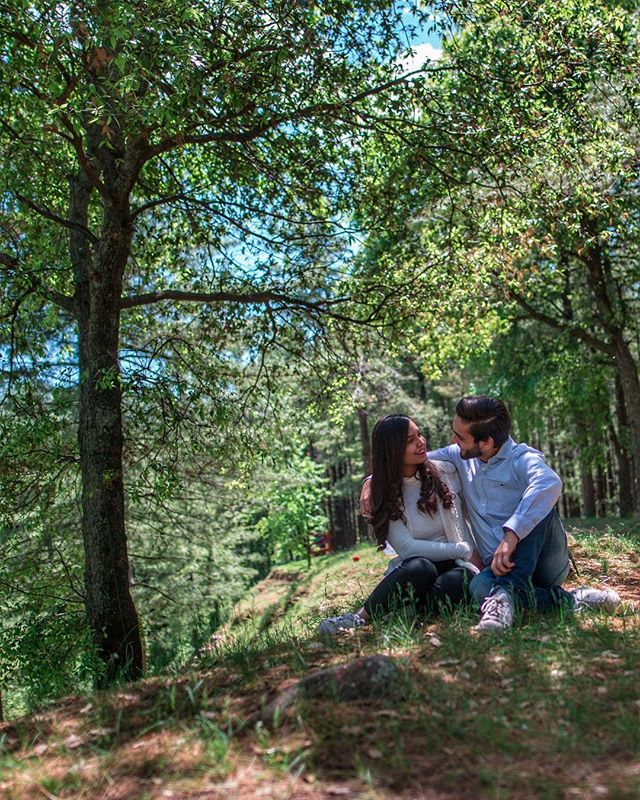 Two. 💜  Location: @chinar.resort