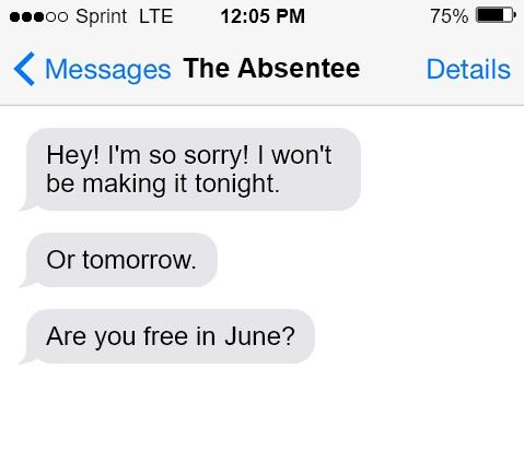 absentee mom friend