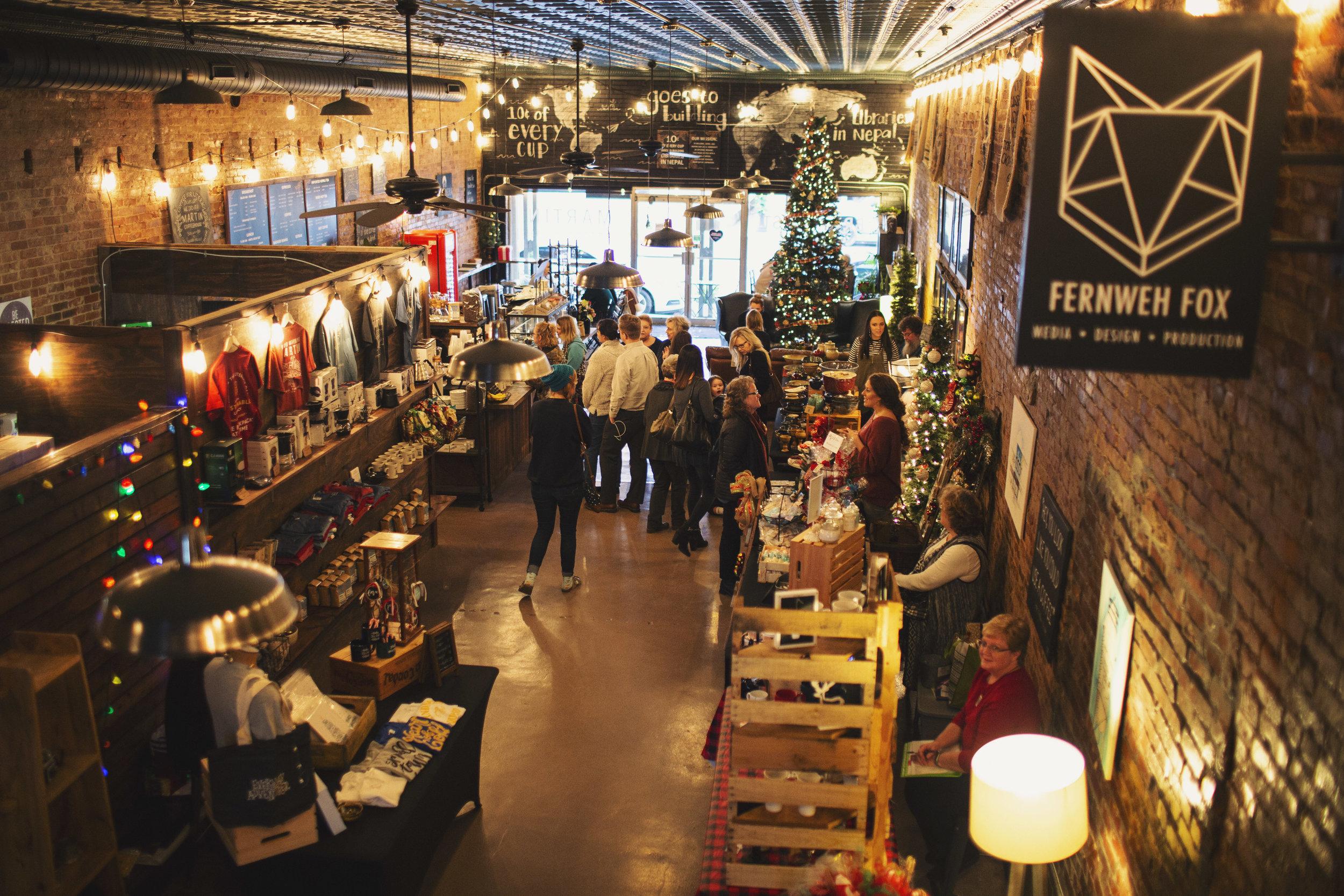 Martin Coffeehouse 2018 Christmas Bazaar