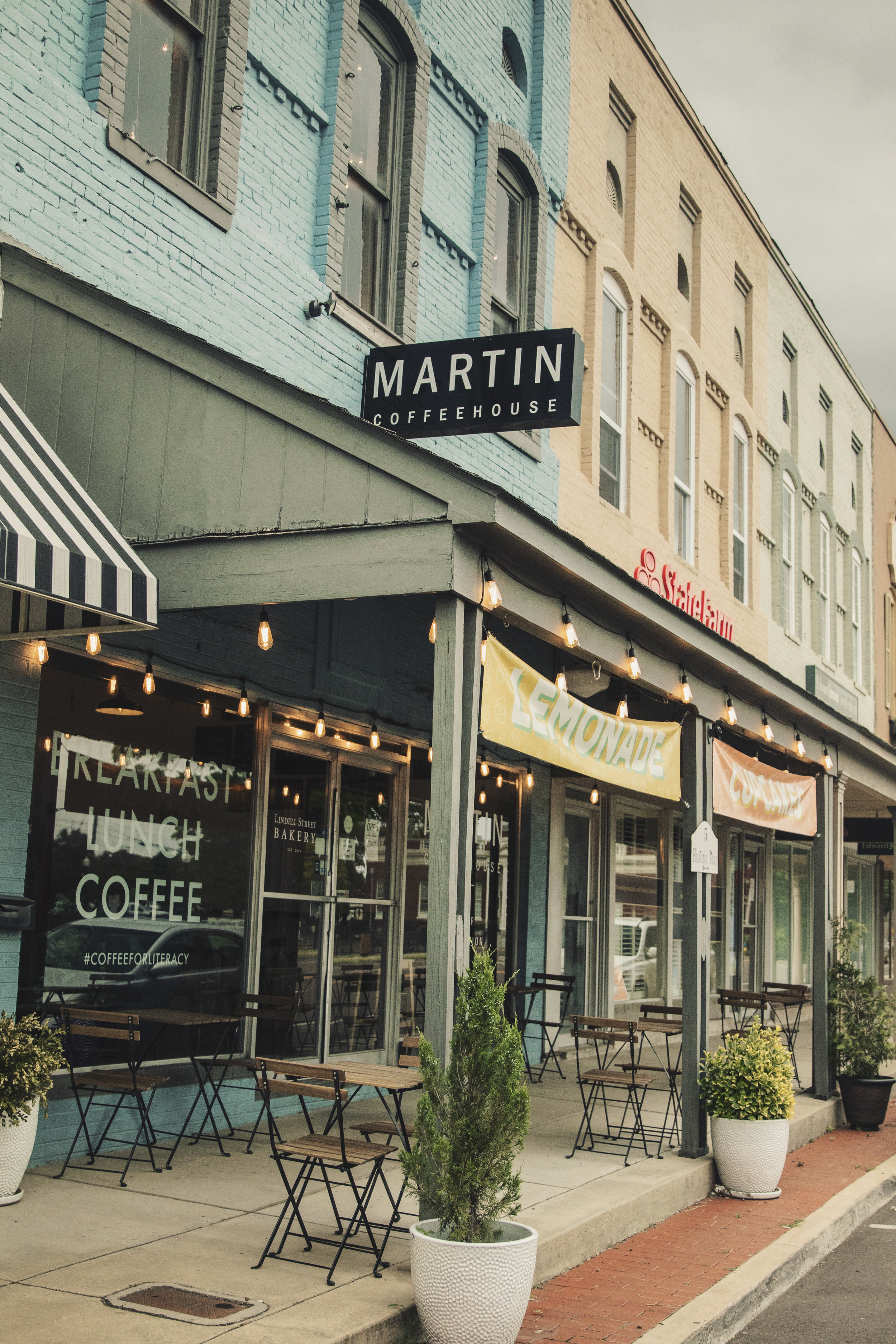 Front of Martin Coffeehouse Building