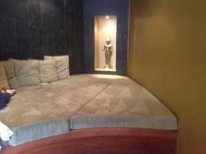 The Whisper Lounge's cosy Dreamtime corner