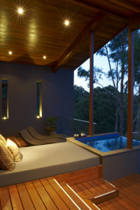 The perfect spot for whiling away a few hours at Kate's villa