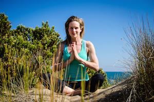 Ros in yogic prayer