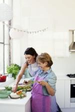 Happy foodies Rachel Kelly &Alice Mackintosh