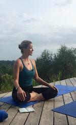 Zephyr Wildman yoga