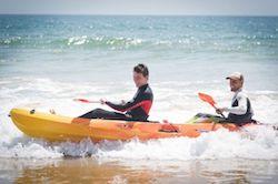 Kayaking at Paradis Plage Morocco