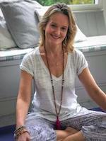 Feeling grounded wearing my Yogaclicks mala