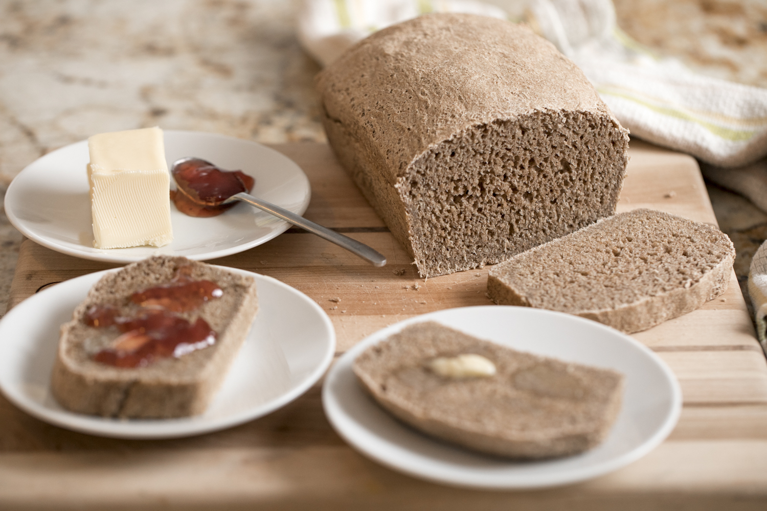 Fly Feet Running - Recipe for homemade Sprouted-Grain Bread