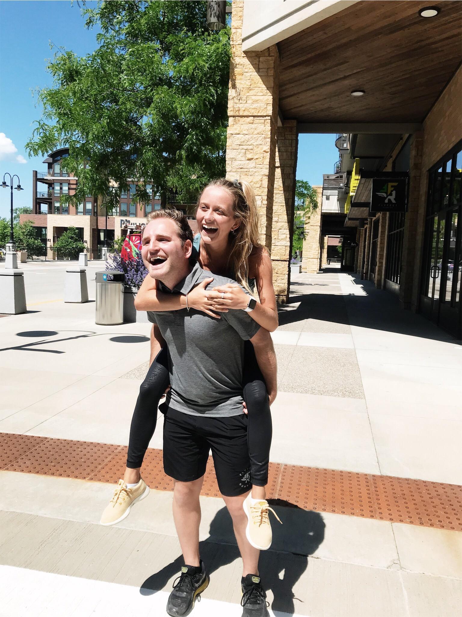 GTKY: Marketing Interns Spencer and Caroline! — Fly Feet Running