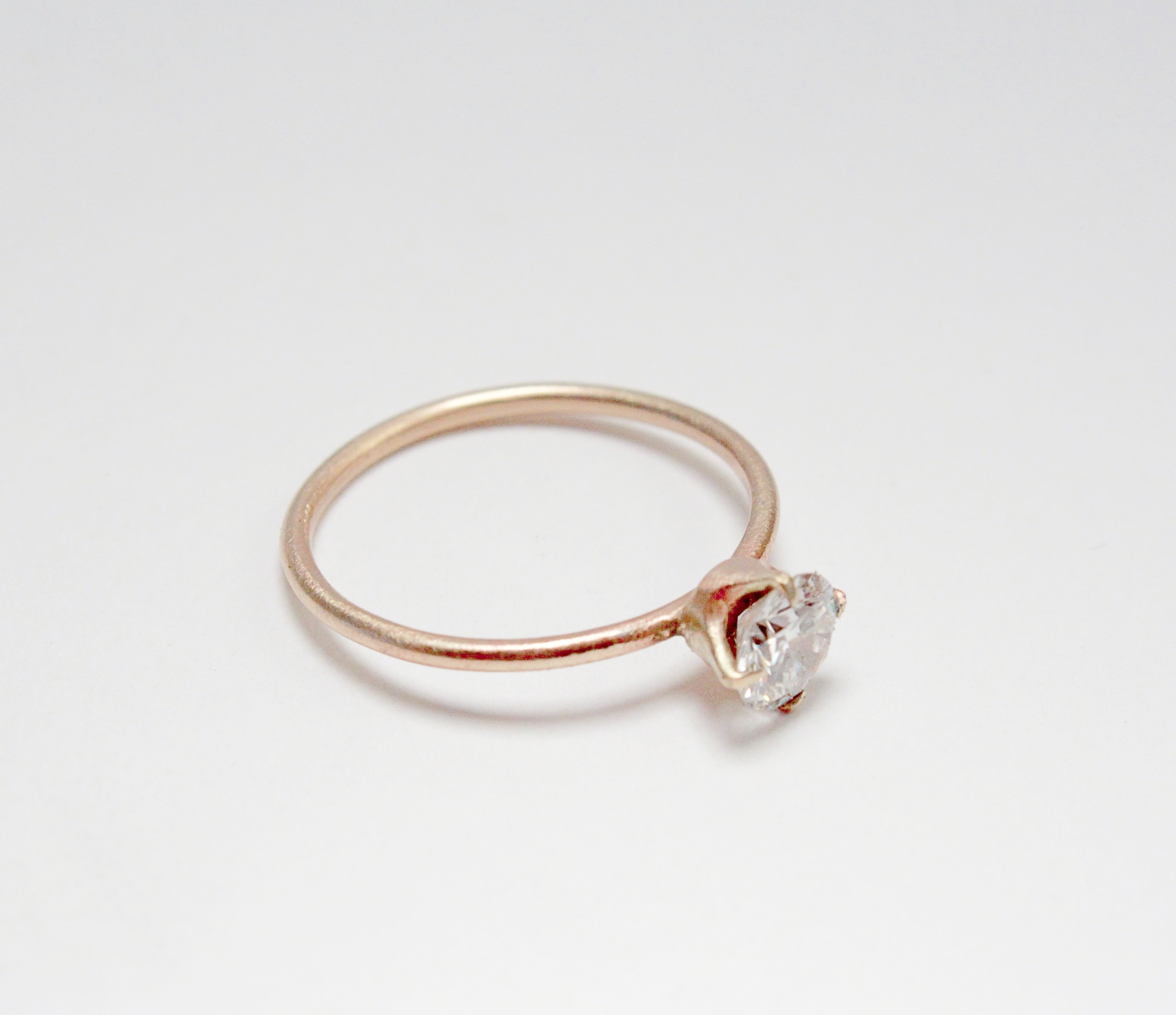 Paige's Simple Engagement Ring
