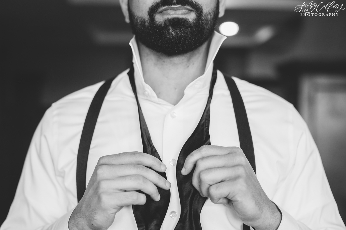 poses, indoor, romantic, spring, light and airy, natural light, ideas, passion, artistic, creative, inspiration, editorial, art, lighting, love, Knoxville, Tennessee, Cherokee country club, vibrant, colorful, bright, groom, getting ready, tie