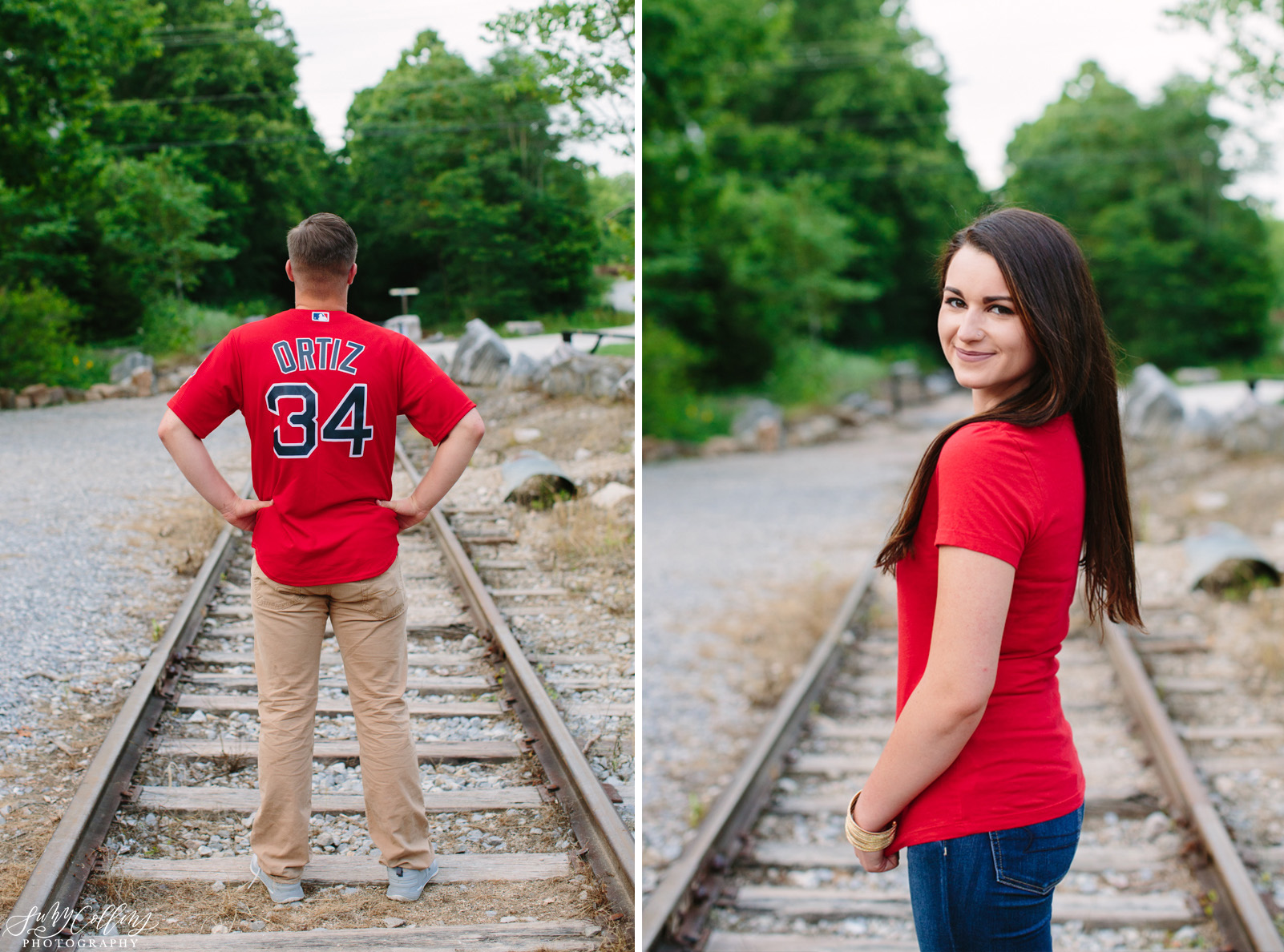 poses, couples, outdoor, meads quarry, Knoxville, Tennessee, engagement, sunset, evening, love, vibrant, colorful, bright, creative, romantic, natural, light and airy, natural light, passion, inspiration, intimate, outfits, fountain, woods, pond, park, jersey