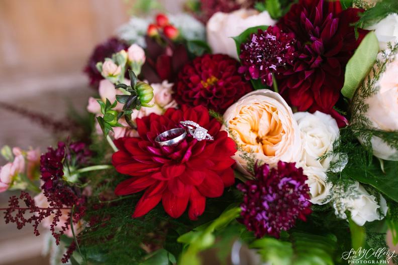 Dark Red Bouquet