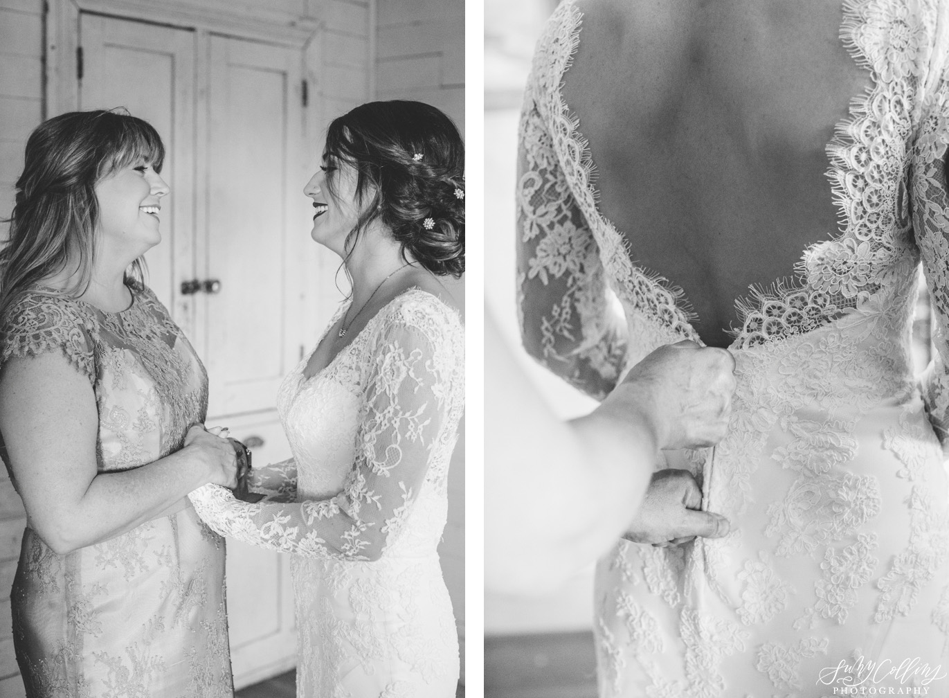 Mother Daughter Wedding Moment