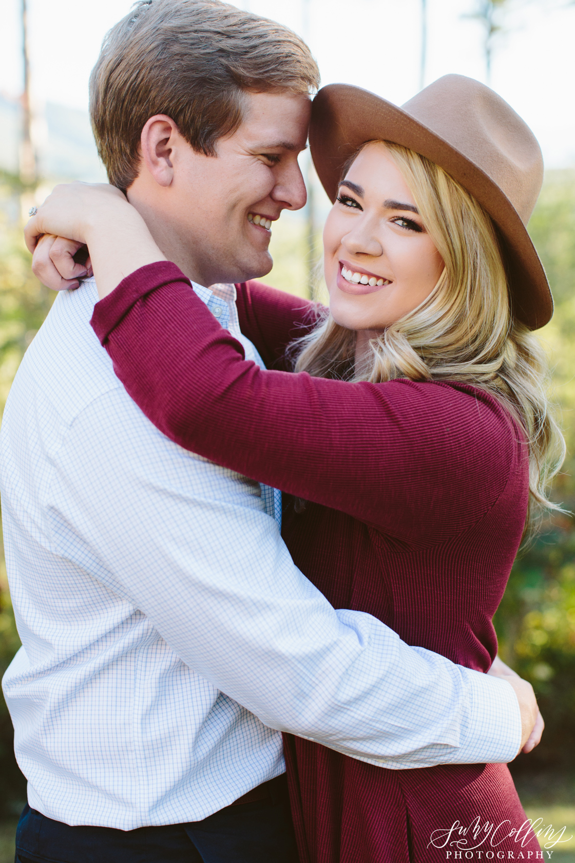 Fall Woods Engagement