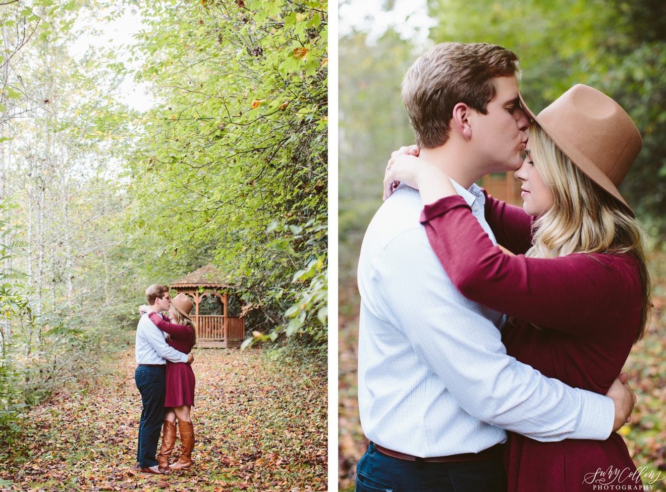 Fall Forest Engagement Smoky Mountains