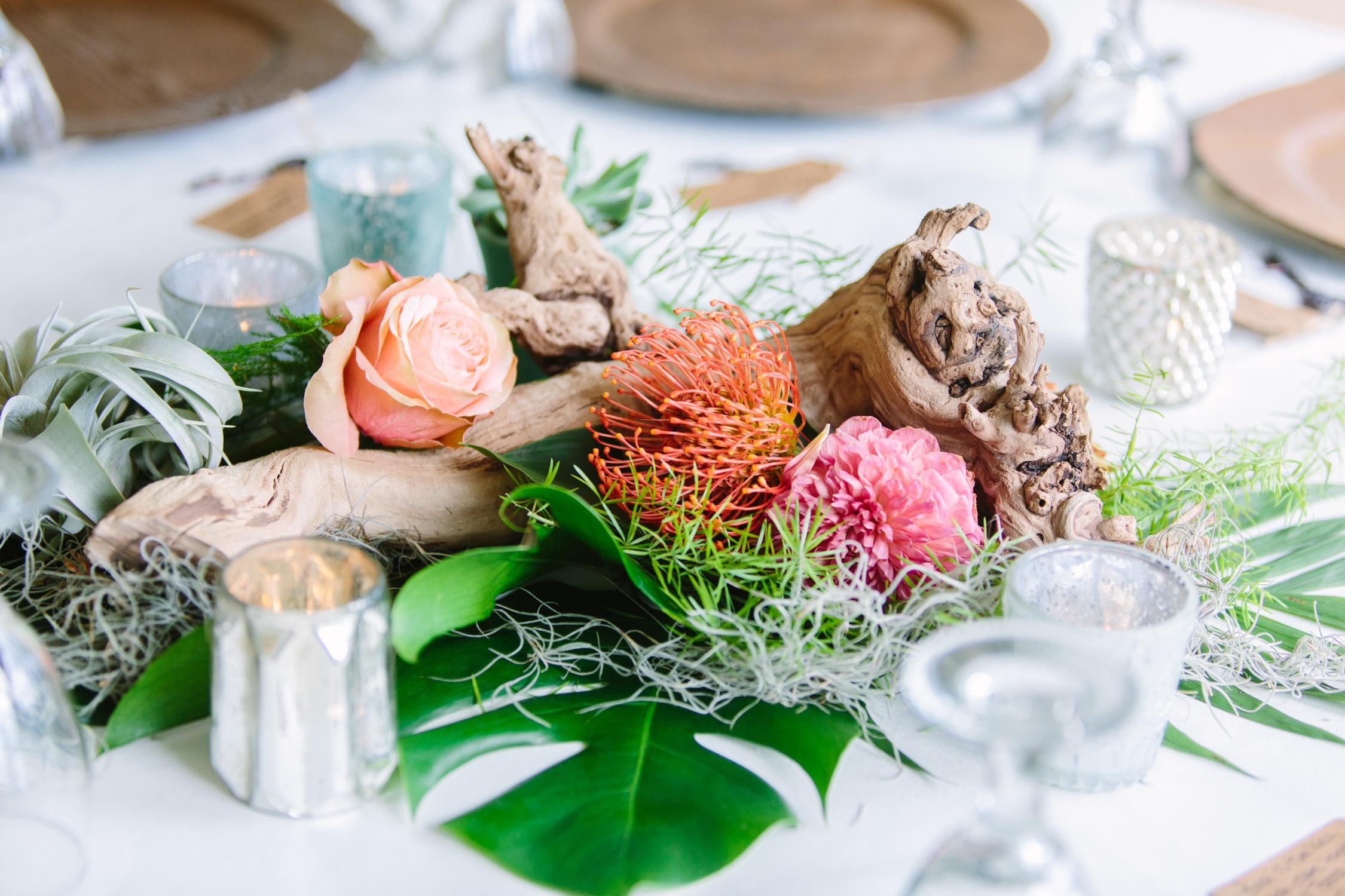 Knoxville Photographer Modern Bohemian Wedding Tropical