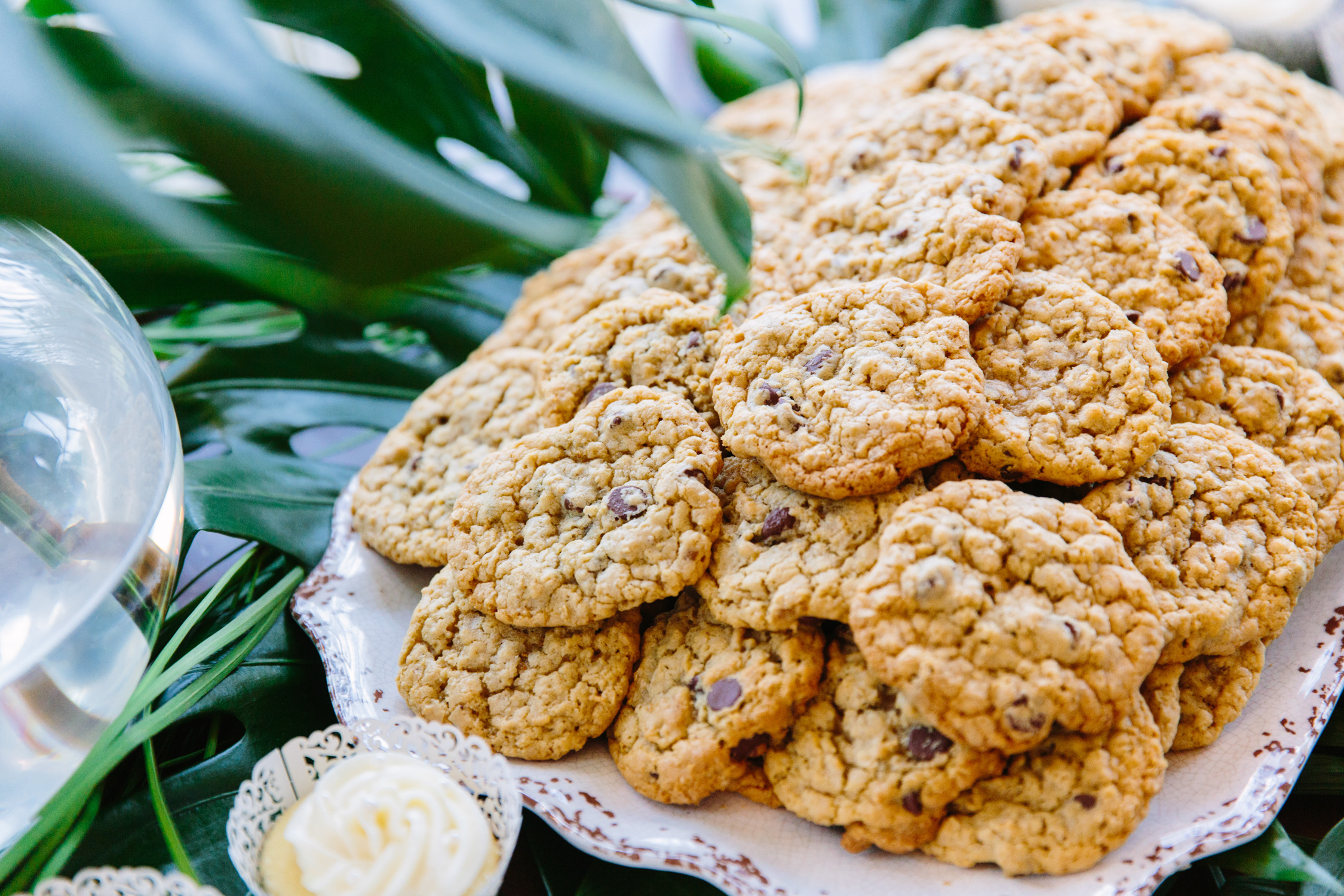 Knoxville Photographer Modern Bohemian Wedding Chocolate Chip Cookies