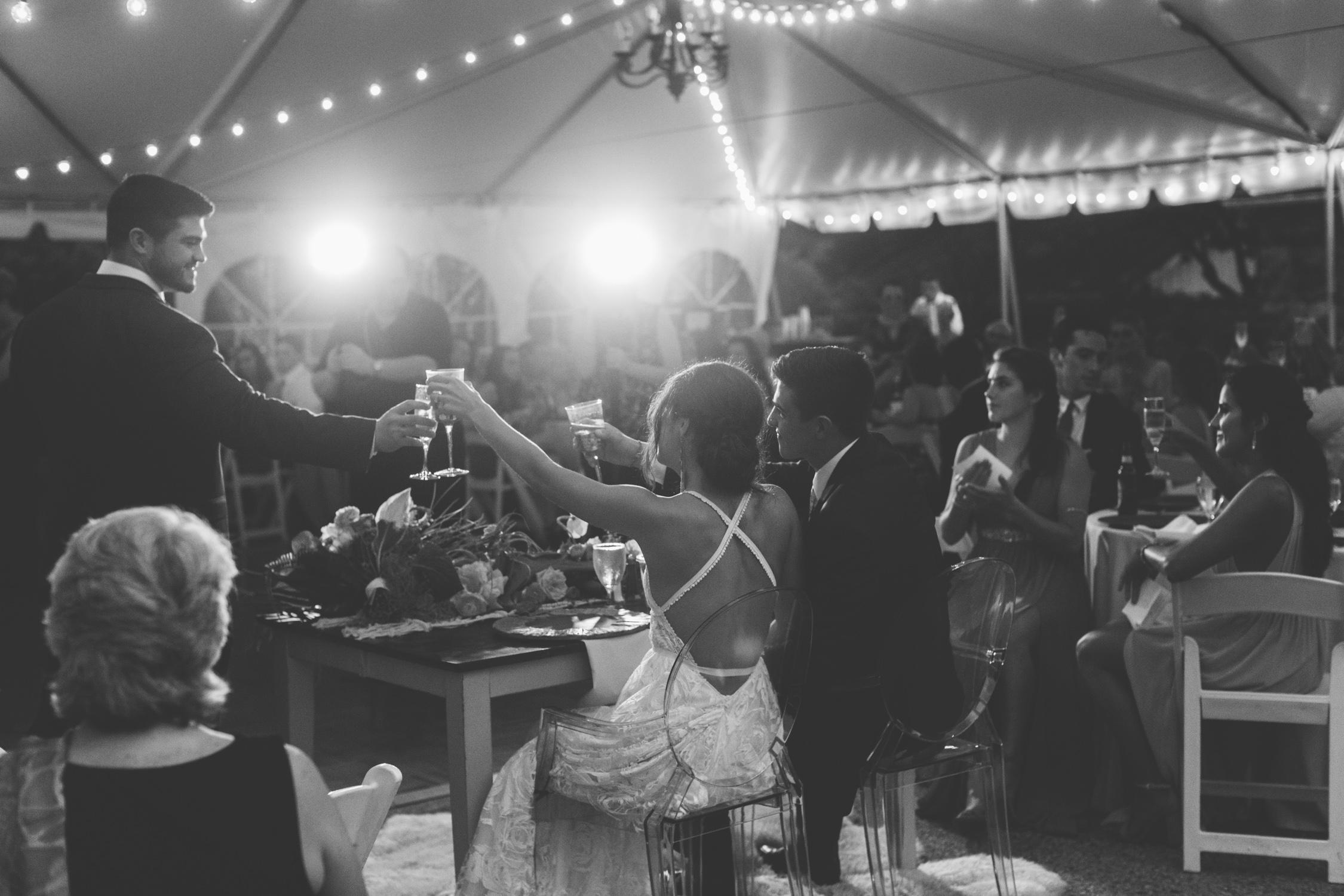 Knoxville Photographer Modern Bohemian Wedding Toasts