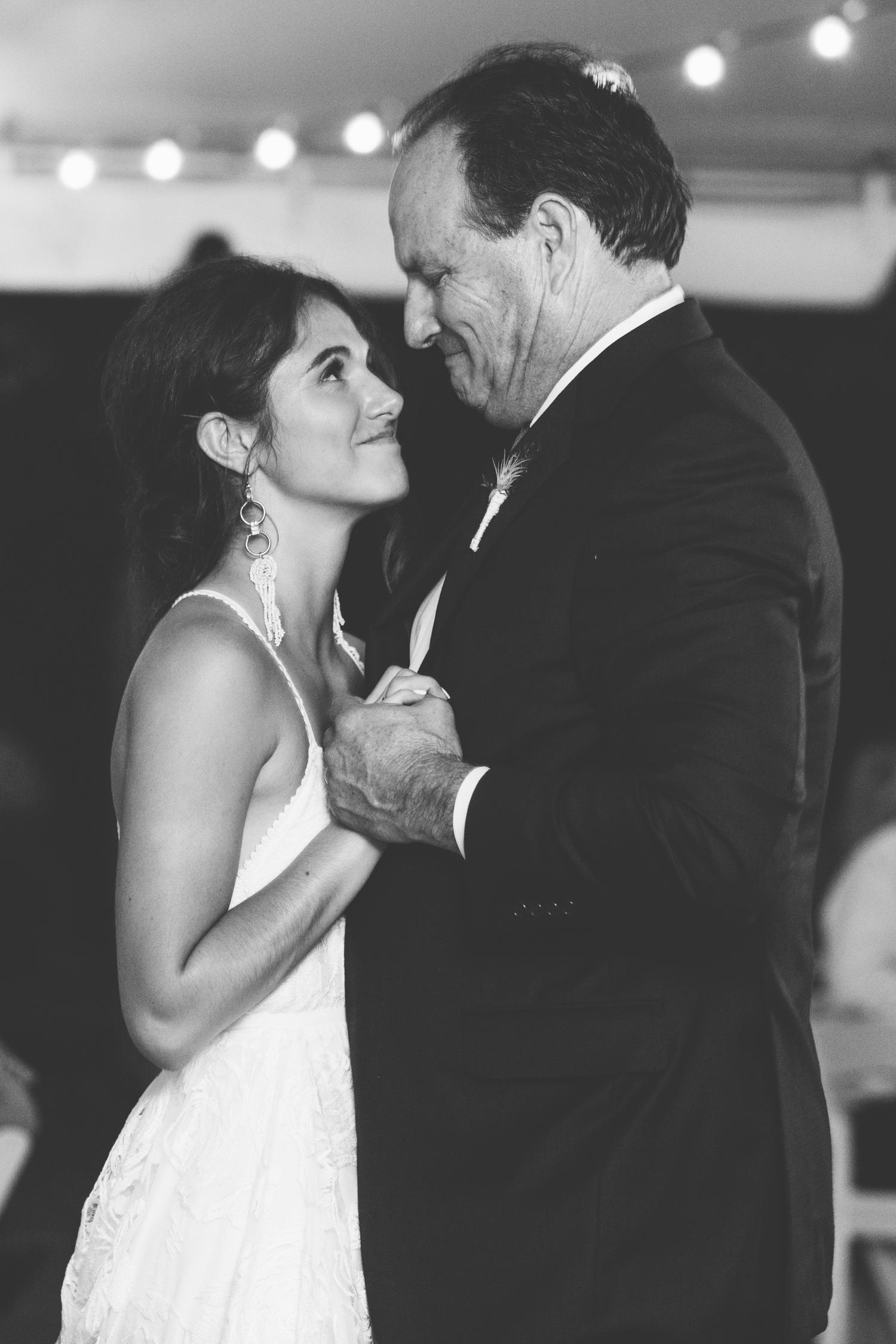 Knoxville Photographer Modern Bohemian Wedding Daddy Daughter Dance