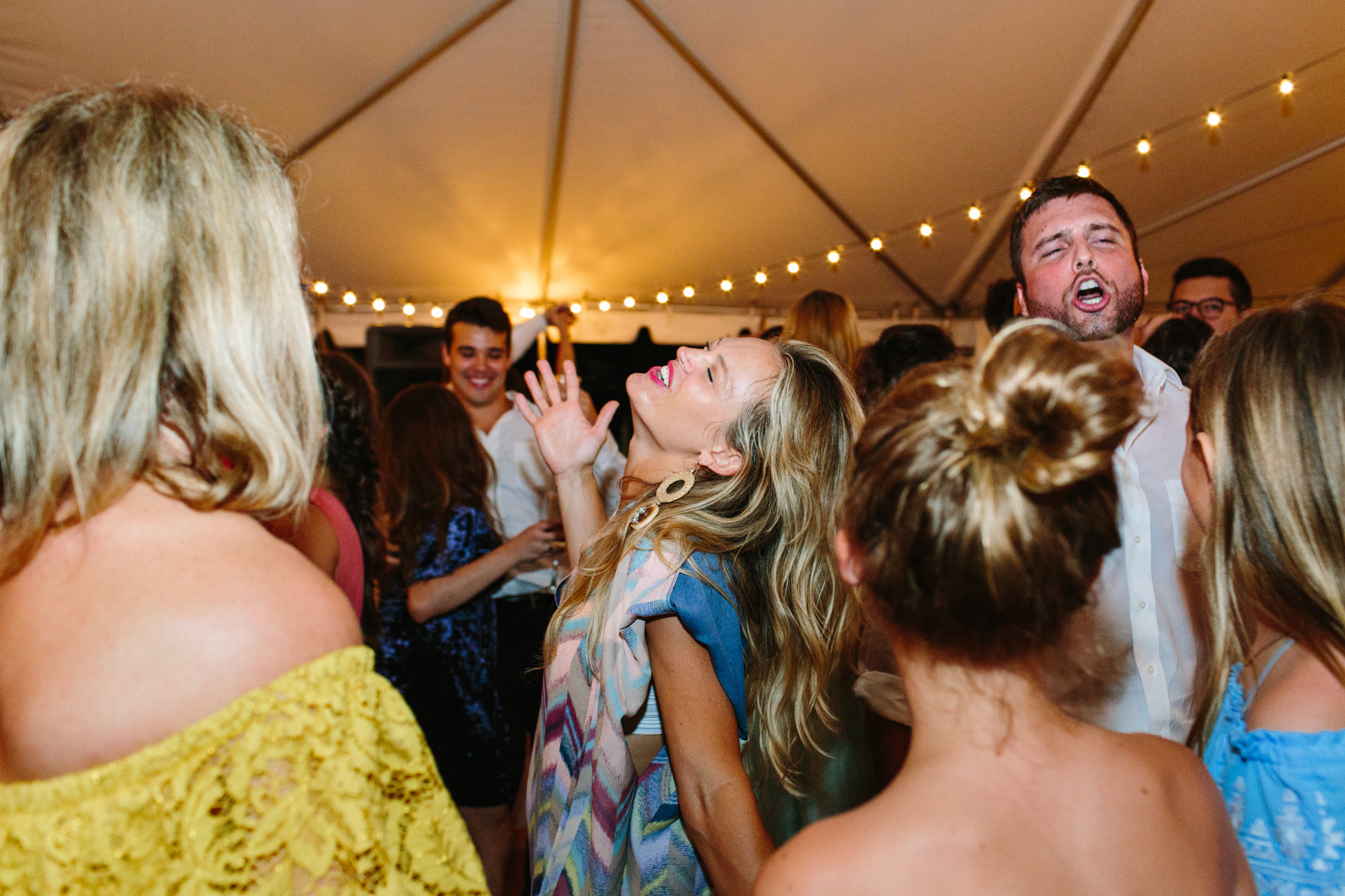 Knoxville Photographer Modern Bohemian Wedding Reception Dancing