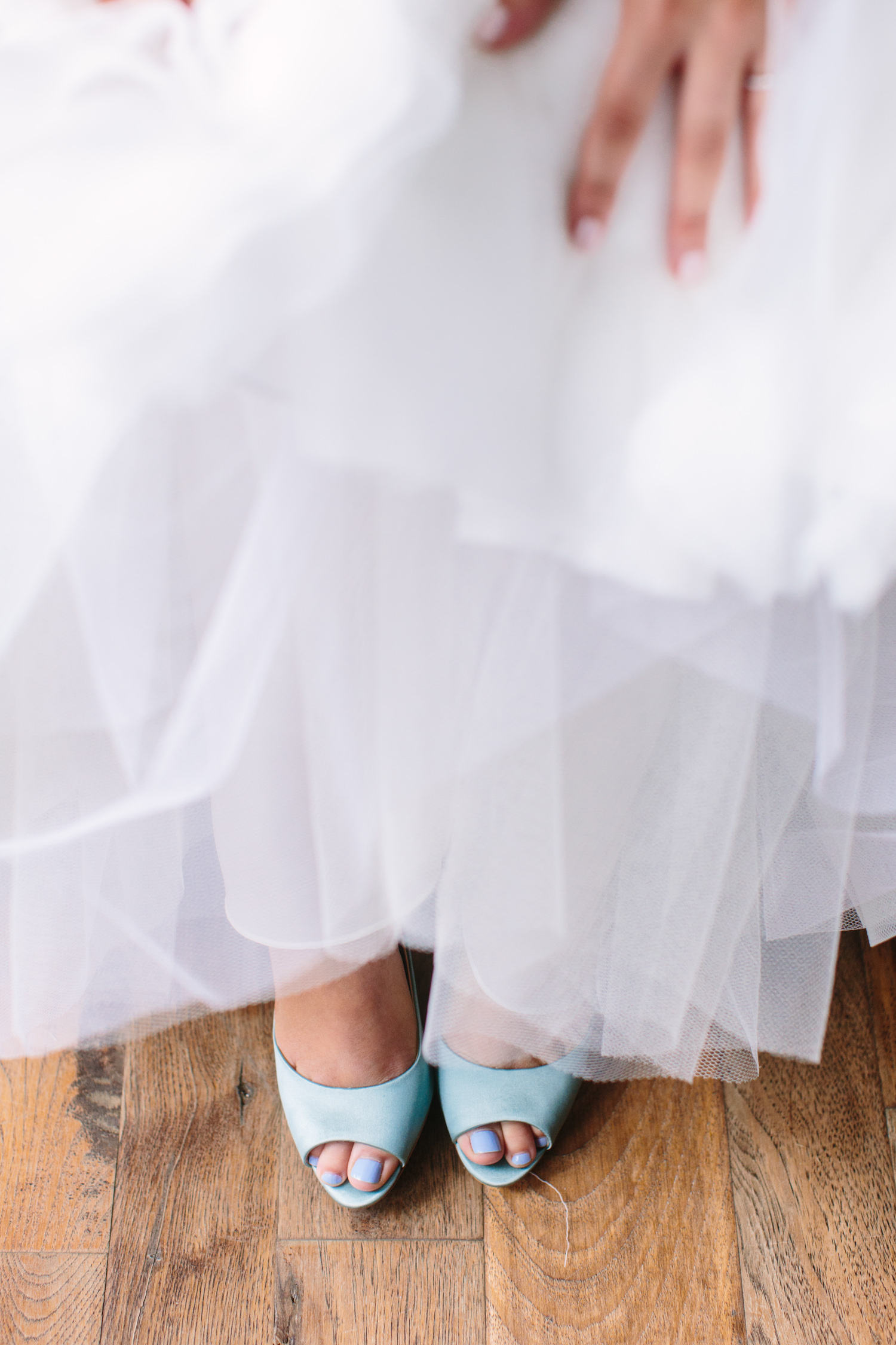 Knoxville Photographer Classic Outdoor Wedding Blue Shoes