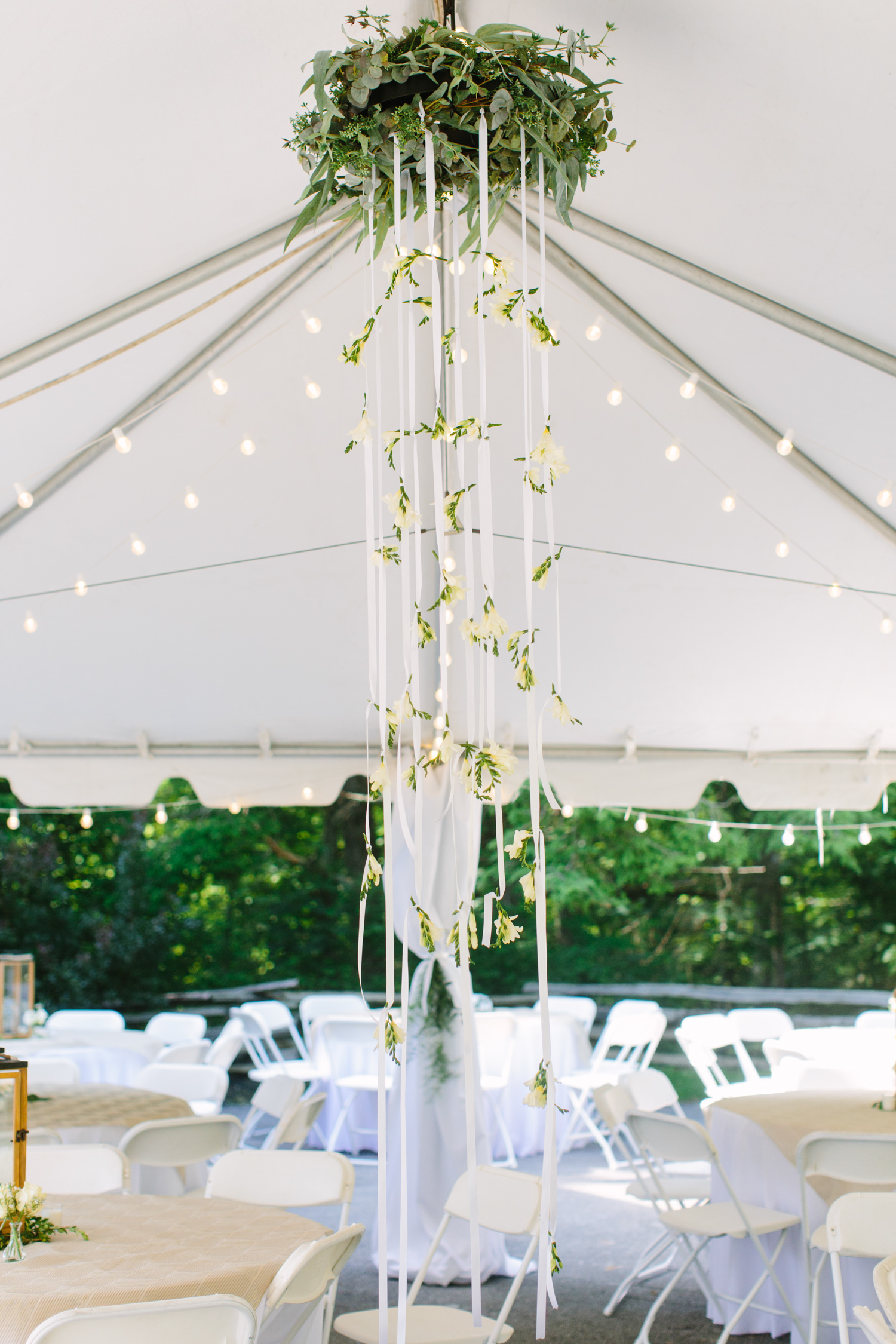 Knoxville Photographer Classic Outdoor Wedding Reception White Tent