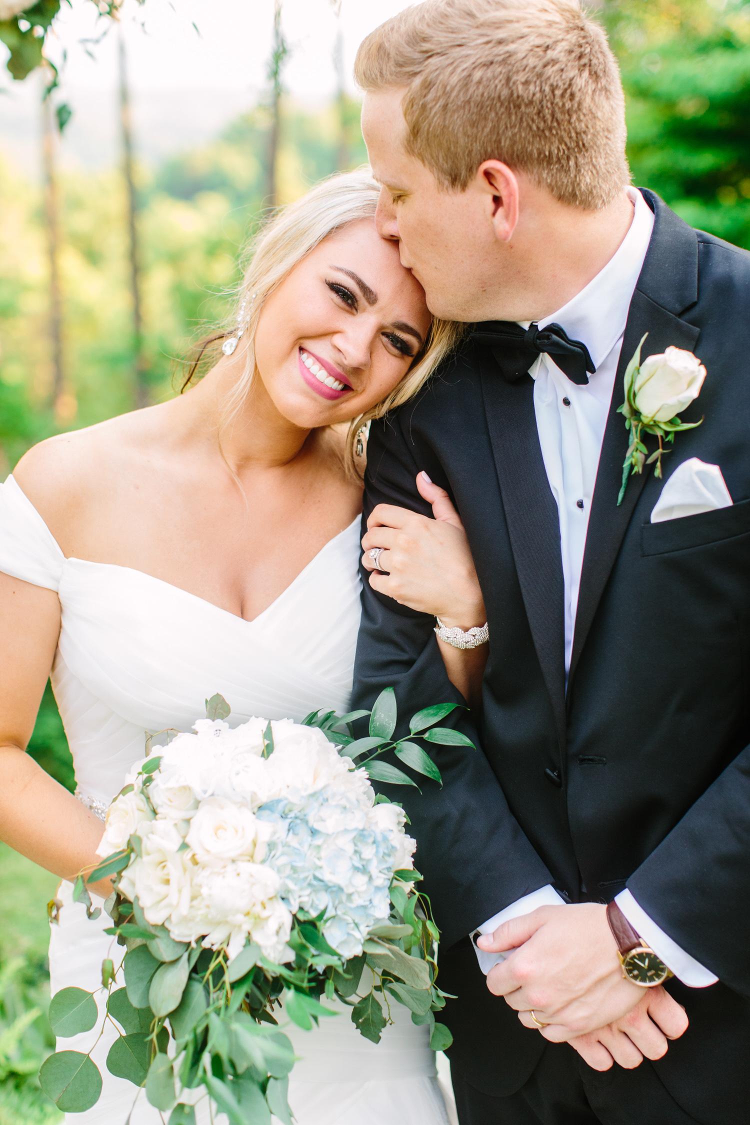 Knoxville Photographer Classic Outdoor Wedding Bride & Groom