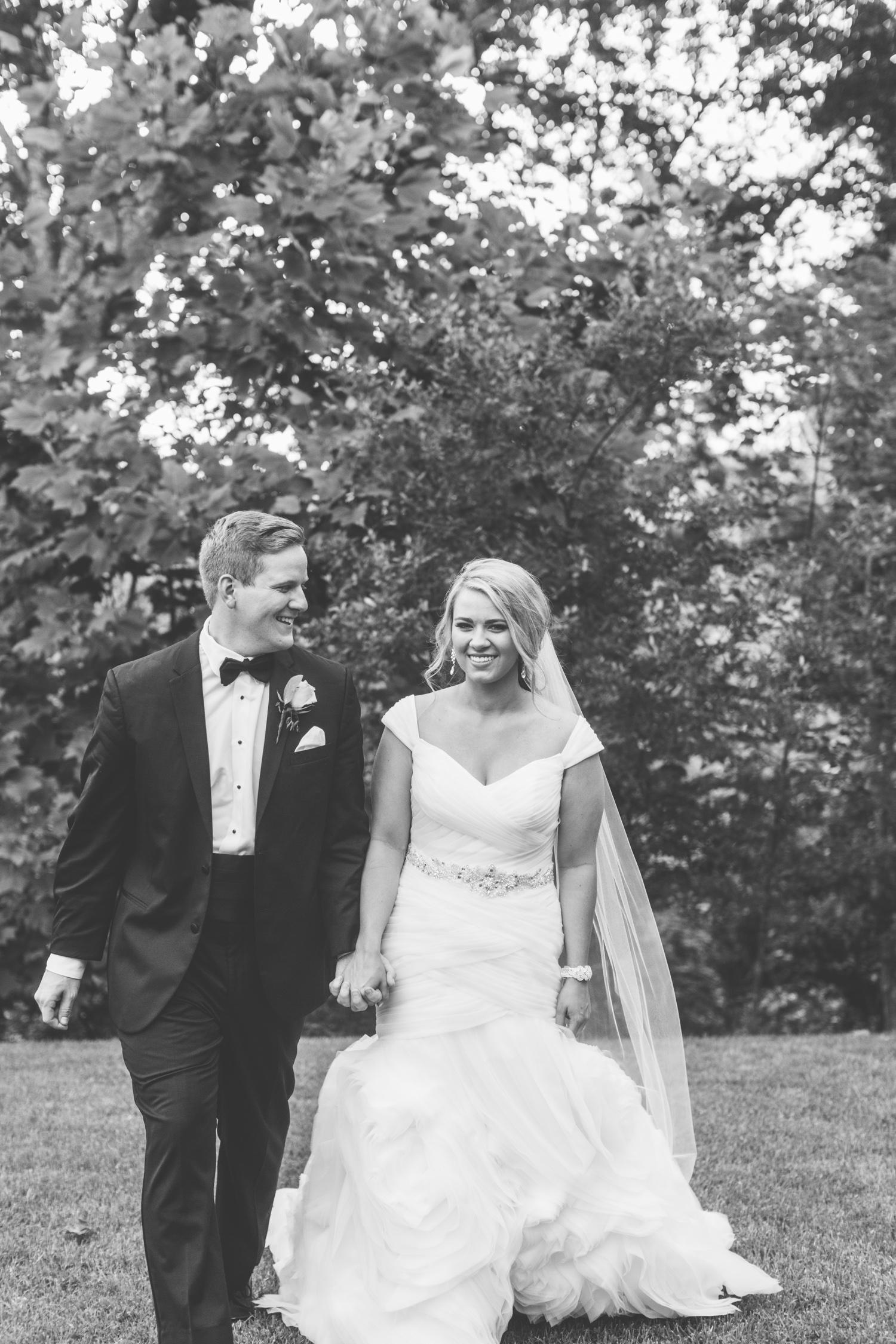 Knoxville Photographer Classic Outdoor Wedding Bride & Groom Portrait