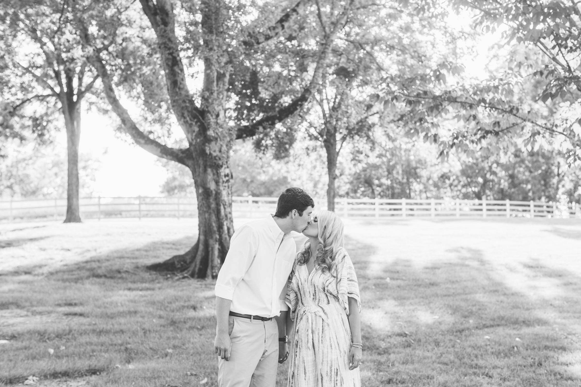 Farm Engagement Photos // Suzy Collins Photography