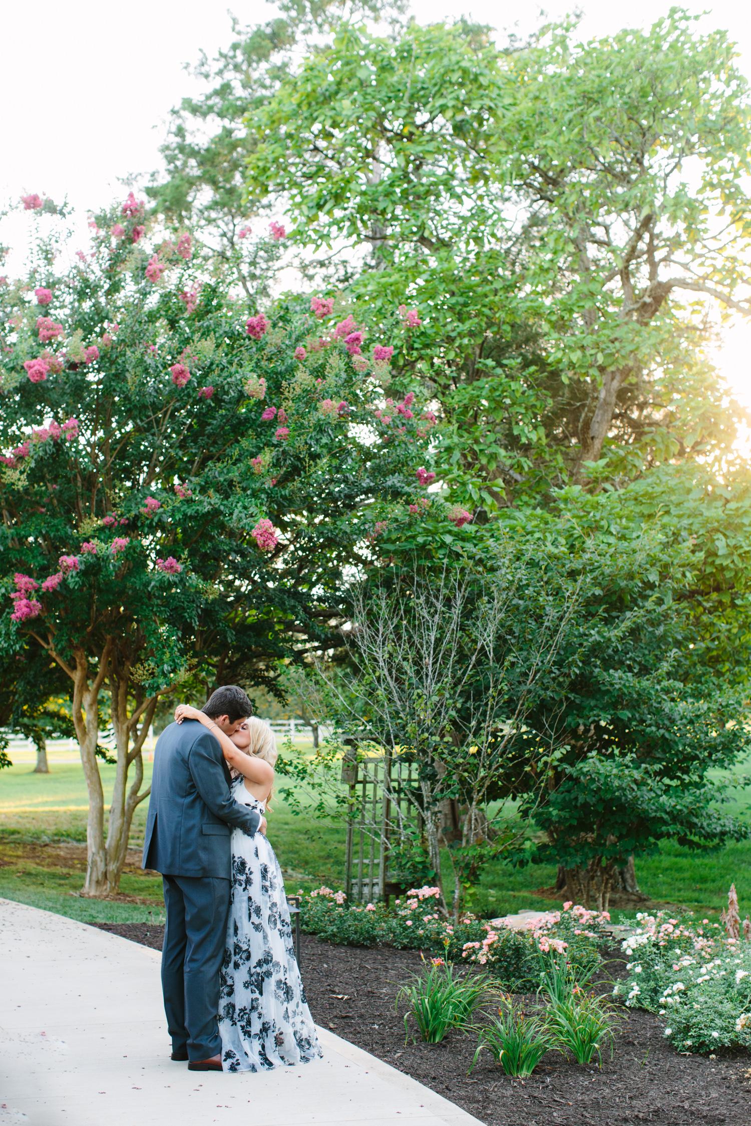 Garden Engagement Photos // Knoxville Photographer // Suzy Collins Photography