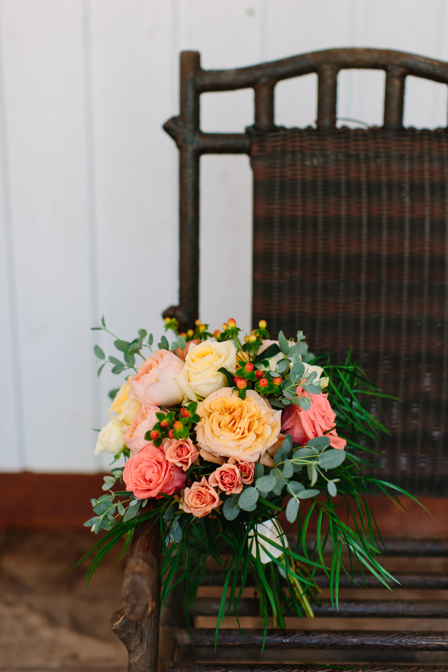 Colorful Bridal Bouquet // Tennessee Photographer // Suzy Collins Photography // The Olde Farm